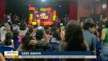 Evento Geek no Amapá tem passeio pela cultura pop coreana no Sesc - Programação atraiu muitos adolescentes que curtem a cultura, contando com a participação da palestrante youtuber Thaís Midori pelo mundo digital em Macapá