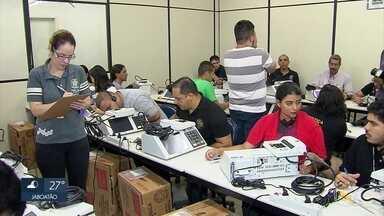 TRE-PE começa a preparar urnas para as eleições - Estado vai usar mais de 20 mil urnas eletrônicas em 2018.