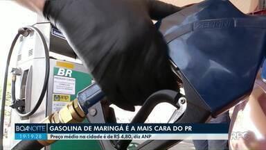 Gasolina de Maringá é a mais cara do Estado - É o que mostra levantamento da Agência Nacional do Petróleo