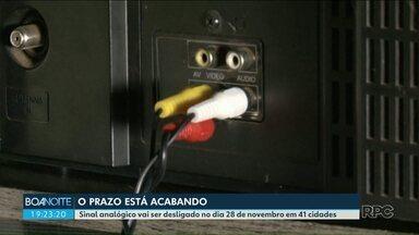 Falta de limpeza em cabos pode atrapalhar recebimento do sinal digital - Era o problema da Iraci, telespectadora de Paranavaí. A equipe da RPC identificou resolveu o problema.