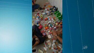 Três pessoas são presas na Parangaba por comércio ilegal de remédios - Veja mais notícias em g1.com.br/ce