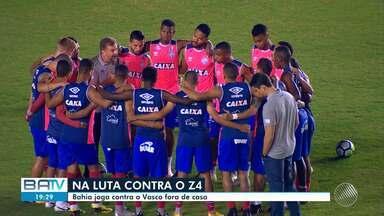 Bahia enfrenta o Vasco nesta segunda-feira (24); confira a escalação do time - Partida acontece a partir das 20h, em São Januário.