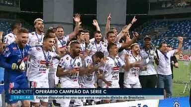 Operário é campeão da Série C - Equipe venceu o Cuiabá por 1 a 0 na Arena Pantanal e se sagrou campeão da Série C.