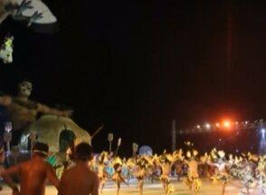 Boto Rosa é o vencedor do Festival do Sairé - Apresentação falou sobre o modo de vida dos índios da região.
