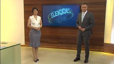 Veja a agenda dos candidatos ao governo de Goiás nesta terça-feira (25) - Seis candidatos disputam o governo do estado.