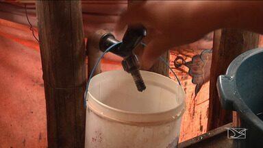 Moradores de povoado em Codó reclamam da qualidade da água - Eles dizem que a água é imprópria para consumo e que estão tendo problemas de saúde.