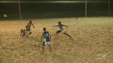 Federais avança para a semifinal da Copa Metropolitana de futebol de areia - Competição é disputa em São Luis, na Arena Domingos Leal