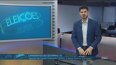 Confira a agenda dos candidatos Jessé Pereira e Leonel Camasão - Confira a agenda dos candidatos Jessé Pereira e Leonel Camasão