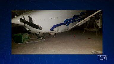 Avião de candidato a deputado estadual realiza pouso forçado em município de São Luís - Avião em que ele viajava sofreu uma pane e fez um pouso forçado no município de Raposa.
