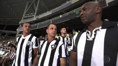 Heróis da Conmebol se juntam aos torcedores do Botafogo contra o Bahia pela Sul-americana - Heróis da Conmebol se juntam aos torcedores do Botafogo contra o Bahia pela Sul-americana