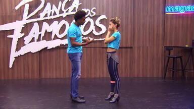 Confira o ensaio de Pâmela Tomé para o rock do 'Dança dos Famosos' - Assista!