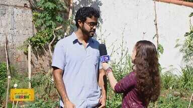 Repórter Mirim: Diana Amaral fala sobre horta comunitária em bairro de Uberlândia - A menina de dez anos enviou um vídeo ao projeto da TV Integração e mostrou a iniciativa dos moradores do Bairro Jardim Karaíba.