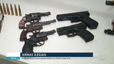 Mais de 300 armas ilegais foram apreendidas em 2018 no Tocantins - Mais de 300 armas ilegais foram apreendidas em 2018 no Tocantins
