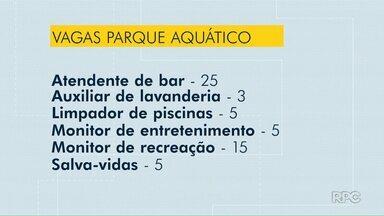 Agência do Trabalhador tem vagas aberas para trabalhar em parque aquático de Foz - Ao todo, são 58 oportunidades em seis áreas.