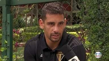 Diego Souza falou sobre as chances do São Paulo no Brasileiro - Diego Souza falou sobre as chances do São Paulo no Brasileiro