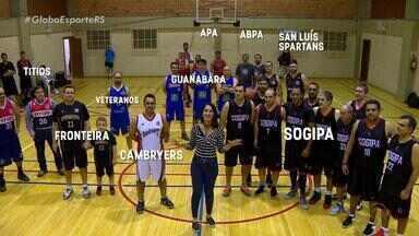 Vem, Alice: Copa RS reúne 280 atletas veteranos de basquete - Assista ao vídeo.