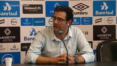 Grêmio volta aos treinos nesta terça-feira (9) após empate com o Bahia de 2 a 2 - Vários jogadores estão no departamento médico.