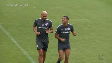 Inter treina na manhã desta terça-feira (9) - Assista ao vídeo.
