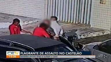 Bandidos atacam idoso e roubam o carro - Saiba mais em g1.globo.com/ce