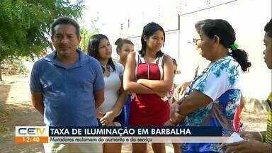 Moradores reclamam da taxa de iluminação em Barbalha - Saiba mais em g1.globo.com/ce