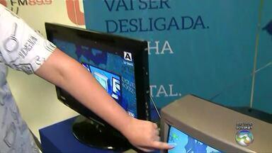 TV Asa Branca explica sobre a diferença entre imagem de sinal digital e sinal analógico - Faltam 56 dias para o desligamento do sinal digital.