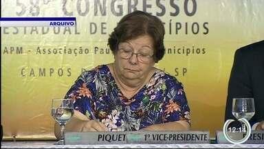 Justiça suspende cassação do mandato e prefeita de Piquete reassume o cargo - Mandado dela tinha sido cassado em junho pela Câmara.