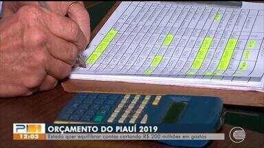 Estado quer equilibrar contas cortando R$ 200 milhões em gastos - Estado quer equilibrar contas cortando R$ 200 milhões em gastos