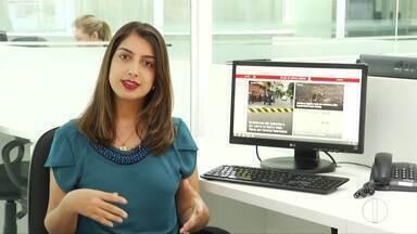 Zana Ferreira traz os destaques do G1 desta quarta-feira (10) - Idoso confunde ketchup com sangue e esfaqueia homem ao pensar que o filho estava ferido