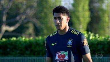 Pablo vai ser o titular da Seleção contra a Arábia Saudita - Pablo vai ser o titular da Seleção contra a Arábia Saudita