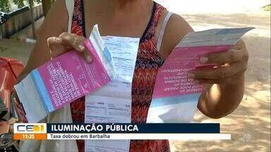 Taxa de iluminação pública dobra em Barbalha - Saiba mais em g1.com.br/ce