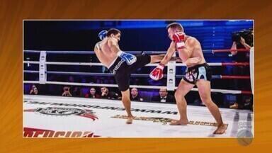 Atleta de Patos de Minas é conquista título internacional de kickboxing - Fabiano Silva, o Mineiro, conquistou o Enfusion um dos maiores eventos do esporte no mundo