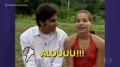 Letícia Colin revê participação no 'vídeo Show' aos 12 anos - Primeiro trabalho da atriz na telinha da Globo foi no seriado 'Sandy & Júnior'
