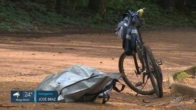 Em menos de 3 meses, mais uma pessoa é encontrada morta na Lagoa do Taquaral em Campinas - Apesar de uma base da Guarda Municipal funcionar no local, corpo do homem de 59 anos foi encontrado nesta quarta-feira (10).