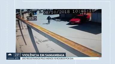 Violência em Samambaia assusta os moradores - Jovem que levou tiro na cabeça, durante assalto em mercado, morreu ontem. Por dia, são registrados, em média, 10 casos de roubos na região.