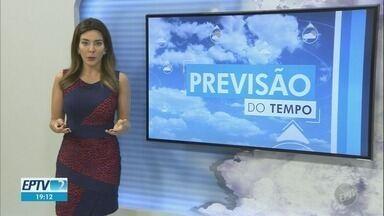 Confira a previsão do tempo para as cidades da região nesta quinta-feira - Com previsão de chuva, Campinas registra máxima de 26ºC.