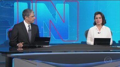Jornal Nacional, Íntegra 10/10/2018 - As principais notícias do Brasil e do mundo, com apresentação de William Bonner e Renata Vasconcellos.