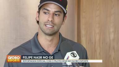 Piloto brasiliense Felipe Nasr pode conquistar título no fim de semana - Veja trecho de reportagem do Globo Esporte, onde piloto fala sobre a chance de ser campeão da Imsa, categoria americana de protótipos.