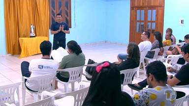 Reunião com equipe de coordenação ajusta detalhes para realização do Círio 100 em Santarém - Encontro na noite de quinta-feira (11) ocorreu com representantes de escolas, famílias e empresas.