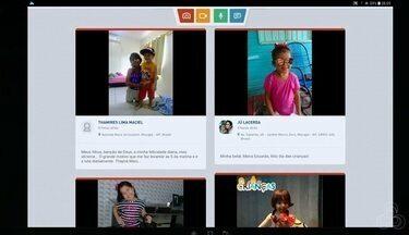 Tô na Rede: homenagem ao dia das crianças, no AP - Registros foram feitos pelo aplicativo da Rede Amazônica