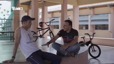 Tô Indo - 13/10 - Mário conhece projeto que ensina crianças a andar de bicicleta - Projeto é desenvolvido em escolas.