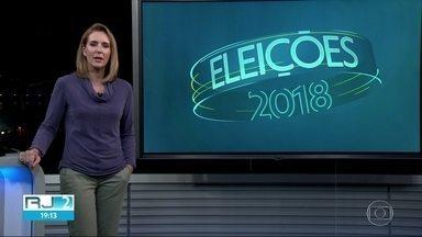 Confira o dia dos candidatos ao governo do RJ nesta sexta-feira (12) - Confira o dia dos candidatos ao governo do RJ nesta sexta-feira (12)