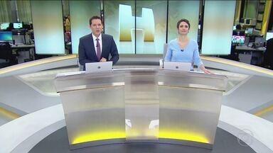 Jornal Hoje - Edição de segunda-feira, 15/10/2018 - Os destaques do dia no Brasil e no mundo, com apresentação de Sandra Annenberg e Dony De Nuccio