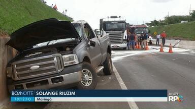 Motorista morre em acidente no Contorno Norte - Em outro trecho da BR-376, um jovem morreu atropelado
