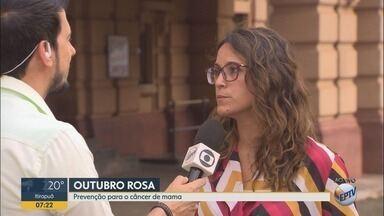 """Palestras gratuitas abordam prevenção ao câncer de mama em Ribeirão Preto - Encontro faz parte das ações do """"Outubro Rosa"""" e terá orientações médicas no Shopping Santa Úrsula nesta terça-feira (16)."""