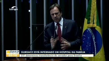 Policiais federais tentam transferir Acir Gurgacz para Brasília e são barrados por médicos - Equipe médica alegou que o senador não tem condições de ser transferido.