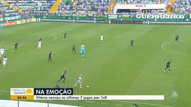 Haja coração: Vitória venceu os últimos sete jogos por 1 x 0 - Veja os destaques do rubro negro baiano.