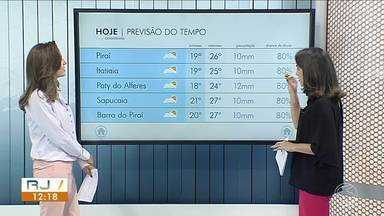 Tarde de terça-feira será de tempo fechado no Sul do Rio - Há possibilidade de chuva a qualquer momento.