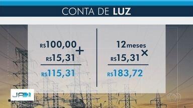Aneel aprova reajuste médio de 18,54% para tarifas de energia de Goiás - Novas tarifas podem ser aplicadas pela Enel a partir do dia 22 de outubro. Alta da tarifa média para consumidores residenciais e comerciais será de 15,31%.