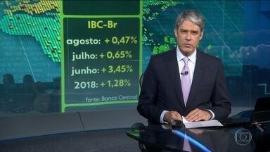 Economia brasileira cresceu 0,47% em agosto, segundo BC - No ano, país cresceu 1,28%