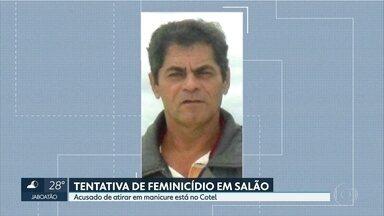 Acusado de tentar matar manicure no Recife é preso - Policial militar aposentado foi encontrado no bairro da Mangabeira, na Zona Norte.